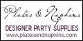PlatesAndNapkins.com Designer Party Supplies