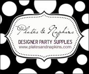Designer Plates & Napkins – Classy and Elegant Party Supplies