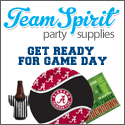 Licensed NCAA Party Supplies at Team Spirit Party Supplies