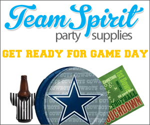 Licensed NFL Party Supplies at Team Spirit Party Supplies