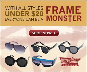Lady Gaga Sunglasses from Sunglass Warehouse
