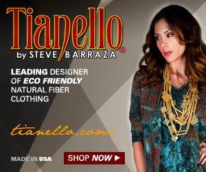 Tianello: leading designer of eco-friendly natural fiber women's clothing