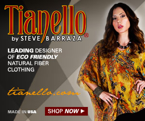 Tianello: leading designer of eco-friendly natural fiber women's clothing