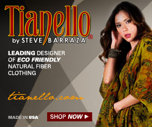 Tianello: leading designer of eco-friendly natural fiber womens clothing
