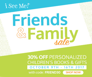 Friends and Family - Save 30%
