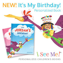NEW- It's My Birthday Personalized Book!