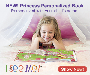 Personalized Princess Books at IseeMe!