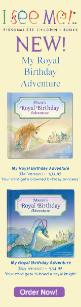 My Royal Birthday Adventure is a personalized storybook that turns a child into a royal birthday knight or princess, and shares a magical adventure specifically for them! The storybook is personalized throughout the text and illustrations, including a 10-