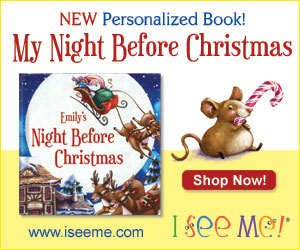 ChildLedLife.com #Christmas wish list of course would have a least one book.  My Night Before Christmas from ISeeMe makes the list.