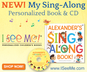 """one of our coolest items for kid's stuff is the new """"I see me"""" personalized children's book"""
