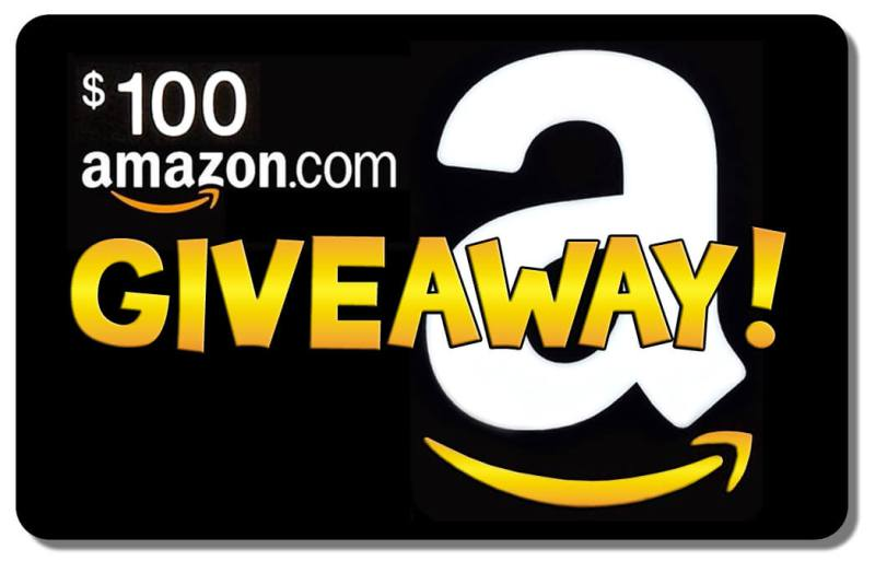 Enter to win a $100 Amazon gift card 2