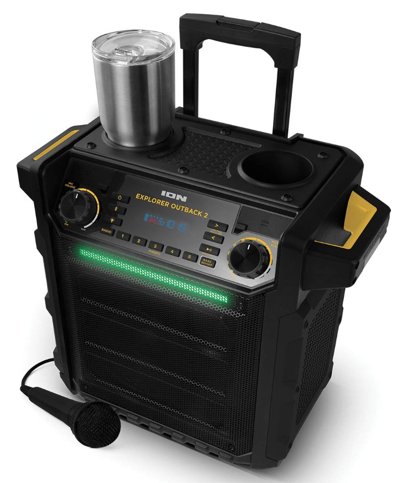 Just Free Stuff Bluetooth Water Resistant Indoor/Outdoor Speaker System Giveaway