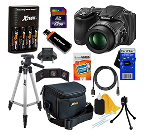 Just Free Stuff Nikon CoolPix L830 Digital Camera Kit Giveaway