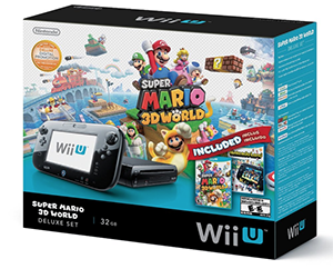 Just Free Stuff Wii U Deluxe Gaming System Giveaway Includes 2 games: