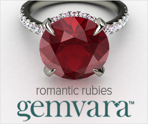 Ruby Engagement Rings from Gemvara