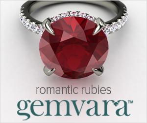 Ruby Engagement Rings from Gemvara