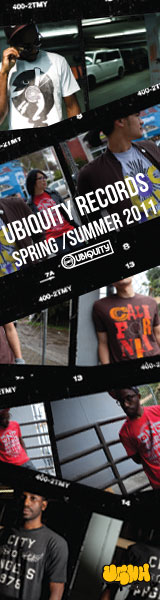 Click Here For More Info On The New Clothing From Ubiquity Recordings!