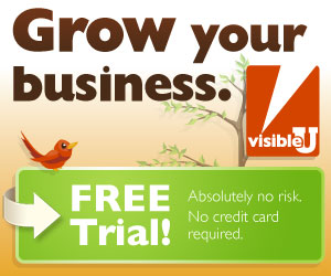 Free Trial with VisibleU: Grow your business.