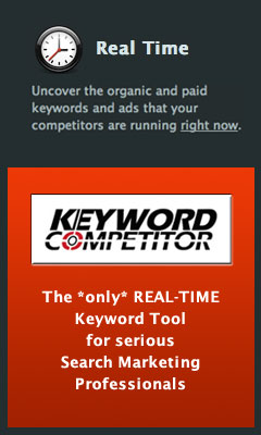 Keyword Competitor real-time keyword research and competitor monitoring tool