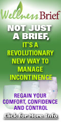 Wellness Brief! Not just a brief. It's a revolutionary new way to manage incontinence.