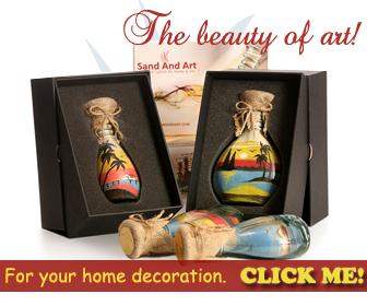 sand bottles from sandandart.com