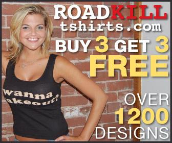 Roadkill tshirts.com buy 3 get 3 free