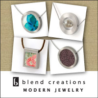 Contemporary Jewelry Gifts by Blend Creations