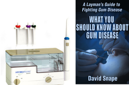 Get a Free Copy of 'What You Should Know About Gum Disease' with your HydroFloss