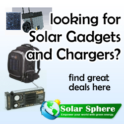 Solar Gadgets and Solar Chargers