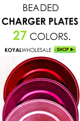 charger plates, chargers