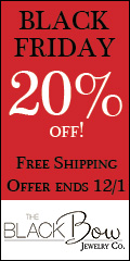 20% OFF ALL ORDERS and FREE SHIPPING!!! It's Our Biggest Sale of the Year! Hurry, This offer ends 12/1/2013 at midnight! Use code BLACK at checkout