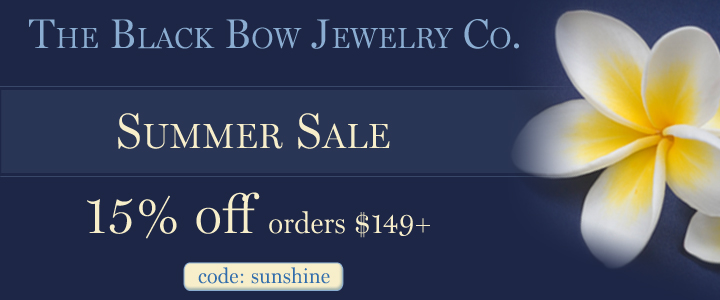 Summer Sale! A great time to buy Amazing Jewelry. Save 15% off orders $149 or more.
