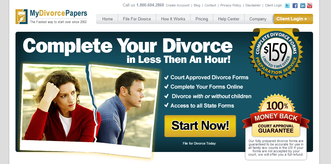 How to get a free divorce in florida