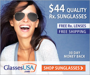 Designer sunglasses at GlassesUSA!