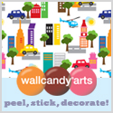 Removable and reusable wall stickers