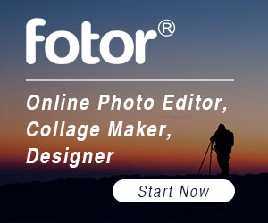fotor, photo editor, collage maker, designer