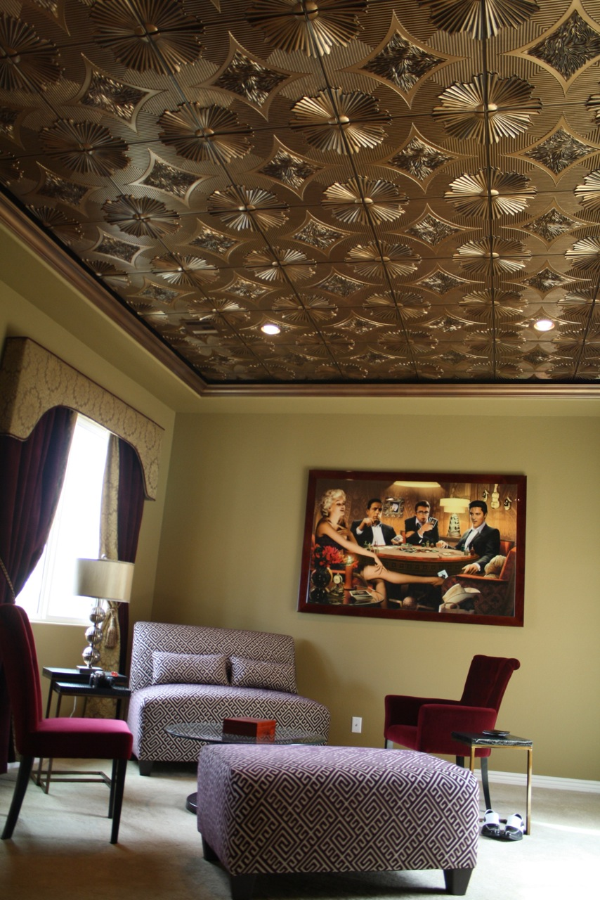 Man Cave Ceiling Tiles That Look Amazing Crafty Tacks House