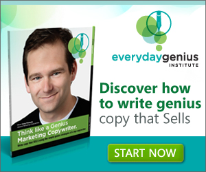 Discover how to write genius copy that Sells.