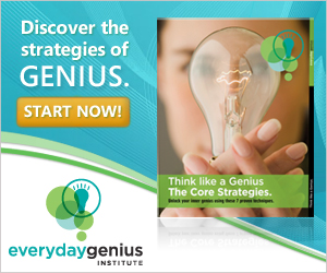 The Core Strategies of Genius.