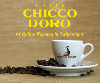 Caffè Chicco d'Oro roasted in Switzerland