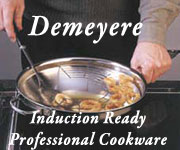 Demeyere Professional Cookware Induction Ready