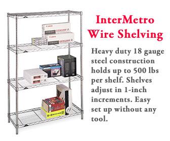 InterMetro Wire Shelving