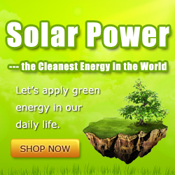 solar power - the cleanest energy in the world