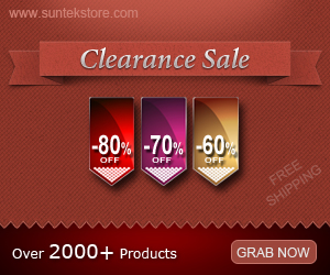 SuntekStore Clearance: Price Cut + Free Shipping