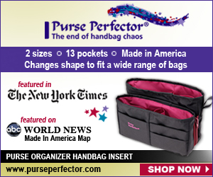 Purse Perfector - Purse Organizer Handbag Insert