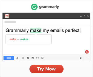 Grammarly Writing Support banner