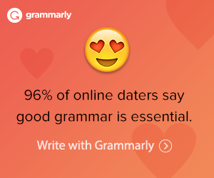 Grammarly Writing Support poster