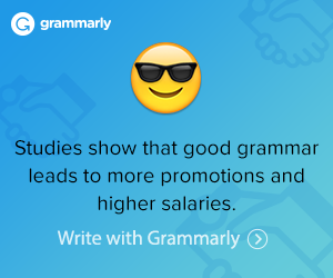 Better writing and better content with Grammarly for a way to success.