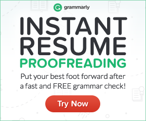 Instant Resume Proofreading