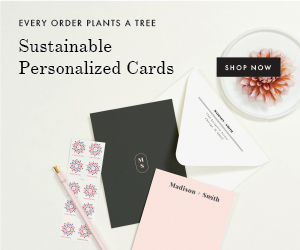 Sustainable Vintage Invitations